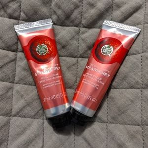 🆕[2-pack] The Body Shop hand cream (strawberry)